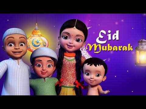 Sab Ko Eid Mubarak Ho | Hindi Rhymes for Children | Infobells