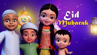 Sab Ko Eid Mubarak Ho Hindi Rhymes for Children Infobells