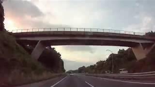 ※10倍速※仙台港北IC~北上江釣子IC【高速道路車載】2018年7月