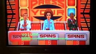 Press Your Luck Nintendo Wii Run (Game 2)