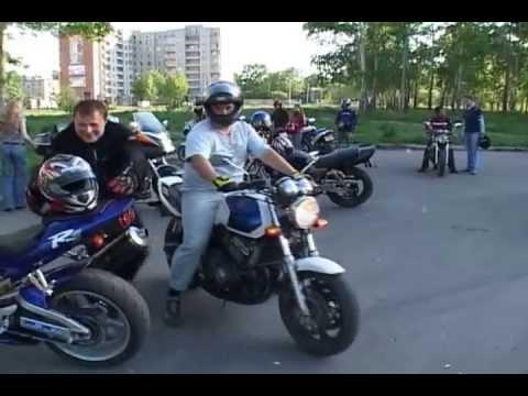 видео: Байкеры Комсомольска-на-Амуре
