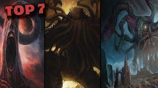 TOP: 7 criaturas lovecraftianas