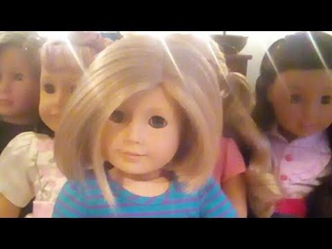 My First Live! Dressing My AG Dolls!