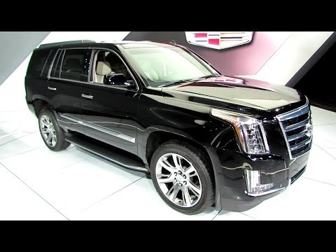 2015 Cadillac Escalade - Exterior and Interior Walkaround - 2014 Detroit Auto ...