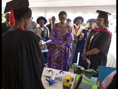 First Lady's speech at the 1st Graduation of the Premier ECDE College | Kigali, 16 June 2017