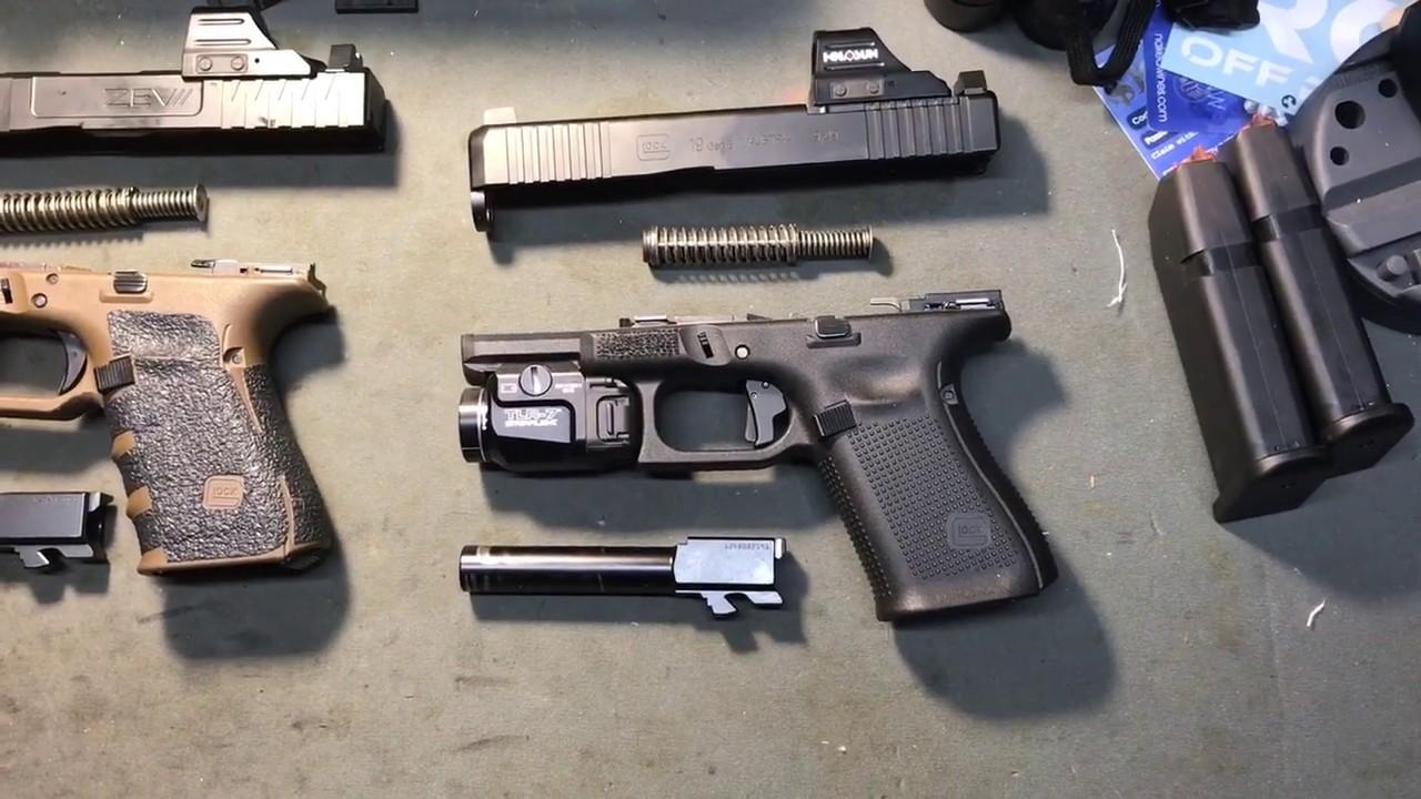 Glock 19 Gen 5 MOS FS