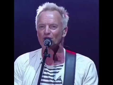 """LIVE - Sting and Shaggy perform """"Don't Make Me Wait"""" in Jamaica. 1st time ever anywhere."""