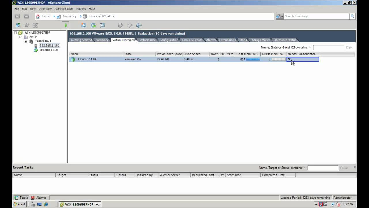 How to consolidate snapshots in vSphere 5 x/6 x (2003638)
