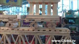 Kapla Amazing Wooden Toy Construction Sets
