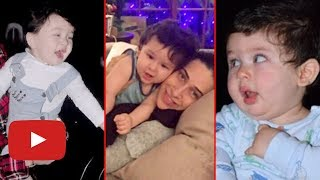 Taimur Ali Khan ALL CUTE PHOTOS and VIDEOS Birthday Special Video