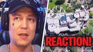 Katastrophe?😂 REAKTION auf die 280$ MILLIONEN VILLA!😱 MontanaBlack Reaktion
