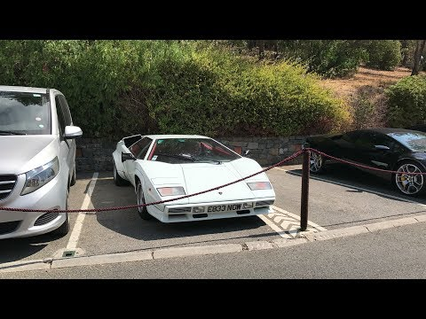 Car spotting in Saint-Tropez (French Riviera) July 2017
