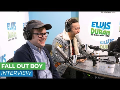 Fall Out Boy On New Single 'Young And Menace' + Upcoming Album 'Mania' | Elvis Duran Show