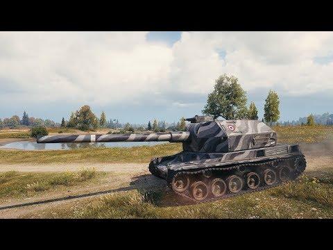 Танкосмотр2019 #30. Франция. Артиллерия. (веткa Bat. Chat 155 58) | World of Tanks