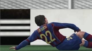 El Classico Real Madrid vs Barcelona full match Winning Eleven 8 GAMEPLAY