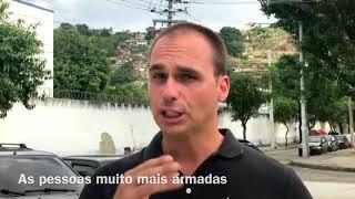 Eduardo Bolsonaro: bandido compra arma em loja?
