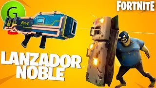 NOBLE LAUNCHER VS NEW ZOMBIES ? Weekly Shop ? Fortnite Save the World