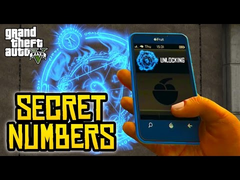 GTA 5 EASTER EGGS - EVERY SECRET PHONE NUMBER! (9th Generation Phone & More)