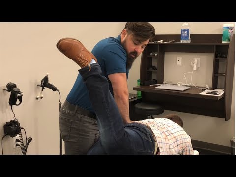 Army Veteran Gets FULL BODY ADJUSTMENT Chiropractic Care - Dr Joseph Cipriano