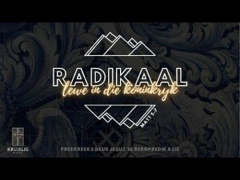 2021.05.23 - Radikaal#11 - Waldo Kruger