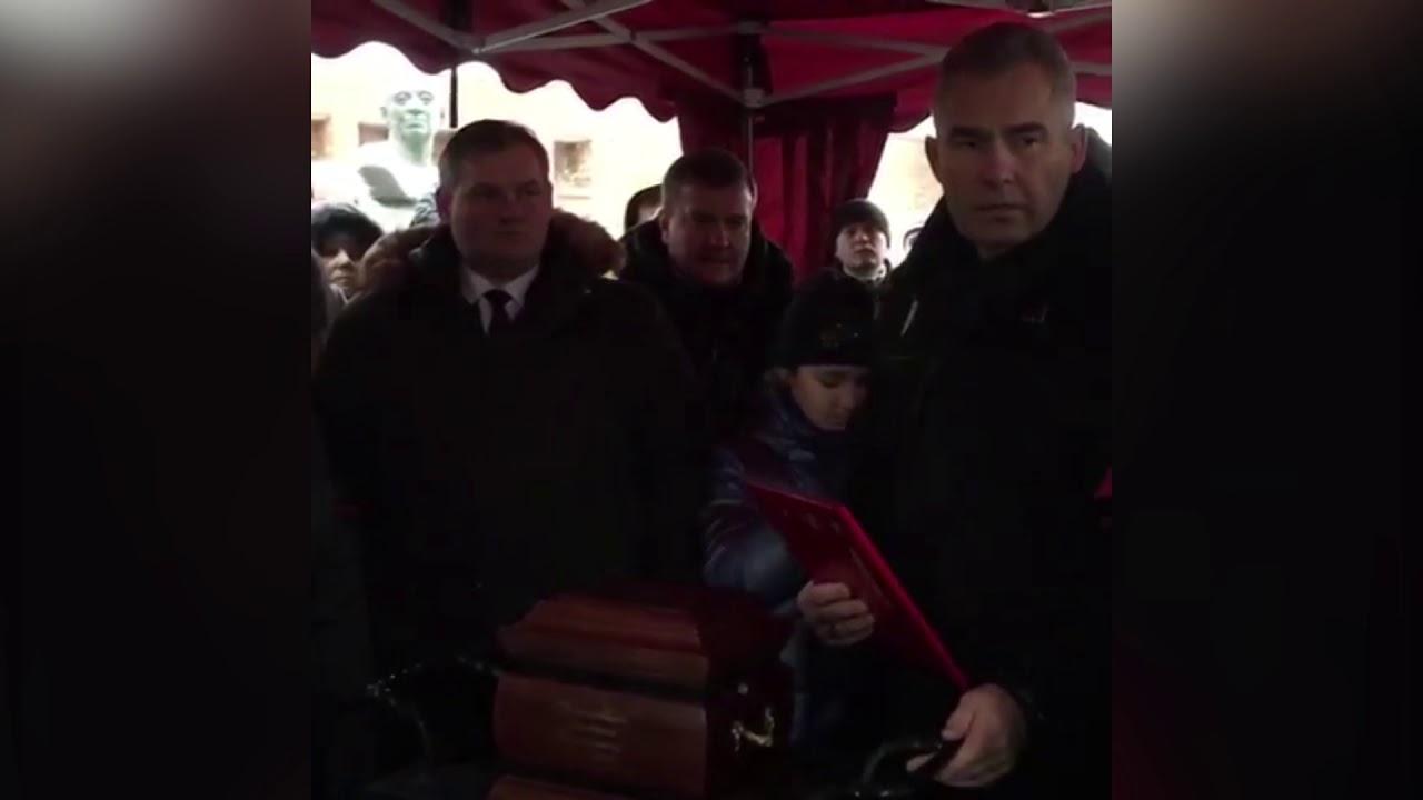 Красноярские СМИ сообщили об исчезновении урны с прахом Дмитрия .