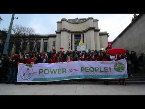 Stop Climate Chaos Paris - RedLines Action & March