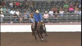 WEST COAST MAGNUM AND PETER DEFREITAS AT THE 2014 DRHA DORMINY PLANTATION OPEN FUTURITY