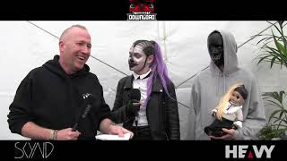 SKYND Interview on HEAVY TV @ DOWNLOAD FESTIVAL 2019