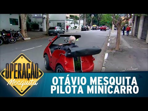 Otávio Mesquita tira onda com minicarro | Operação Mesquita (04/08/17)