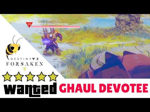 GHAUL DEVOTEE - Destiny 2 Forsaken WANTED BARON LOCATION GUIDE