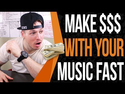 How To Make Money With Music (I made $280 In 1 Day Doing This)