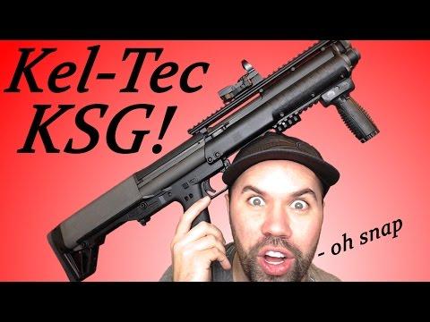 Best Weapon for Home Defense? | Kel-Tec KSG 12ga Shotgun Review!