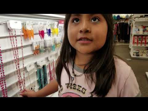 Brayzza School-shopping at the Fashion Fair-Fresno California