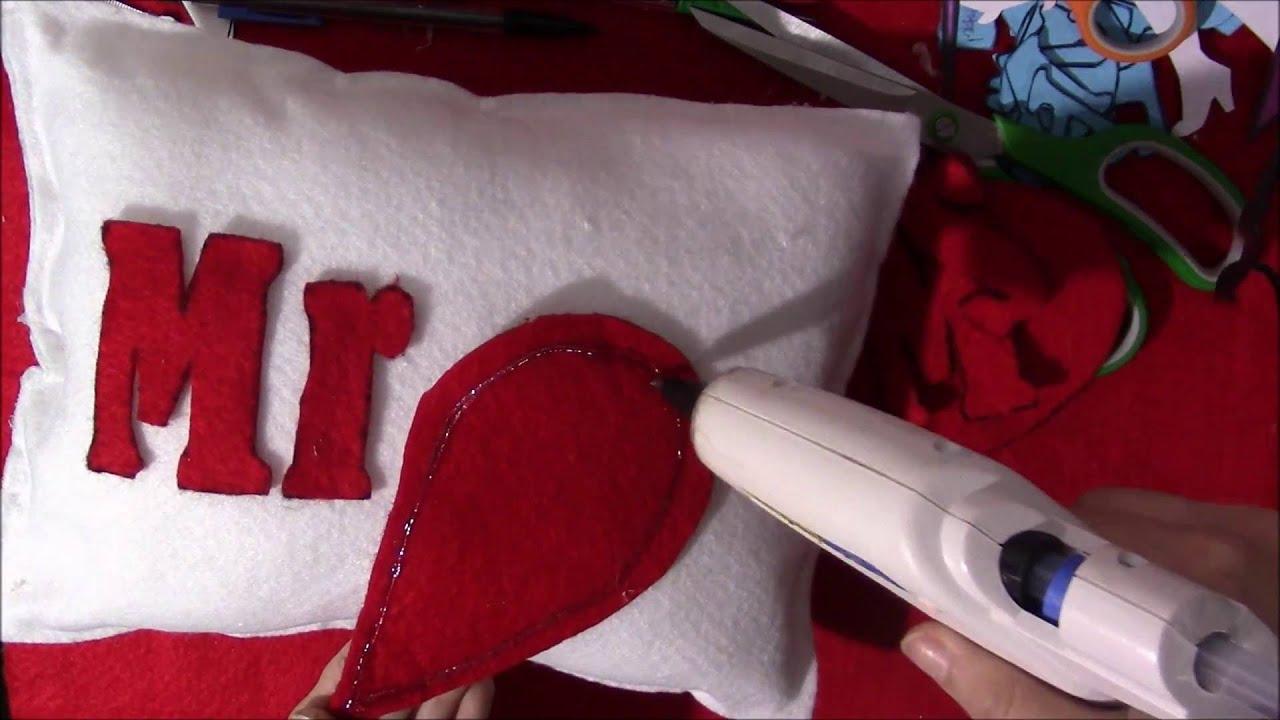 Cojines para decoracion de fieltro youtube - Decoracion cojines ...
