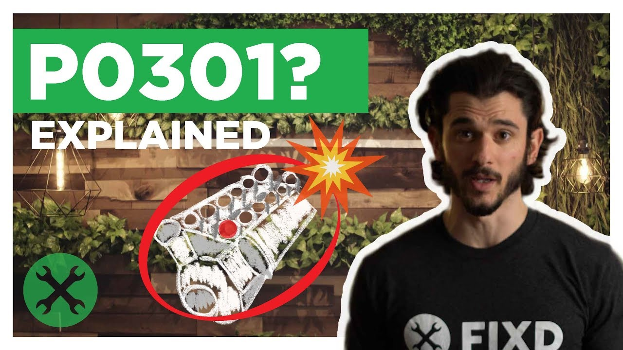P0301 – Meaning, Causes, Symptoms, & Fixes | FIXD Automotive