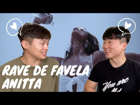 RAVE DE FAVELA - Anitta | EXCITED KOREAN BOYS