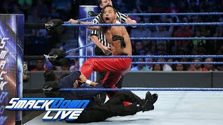 Nakamura battles The Singh Brothers in Handicap Match: SmackDown LIVE, Aug. 22, 2017