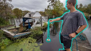 We Went Magnet Fishing At A Abandon Marina (Crazy Finds)