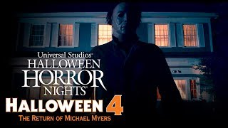 Halloween 4: The Return of Michael Myers House Reveal | Halloween Horror Nights 2018 (USH)