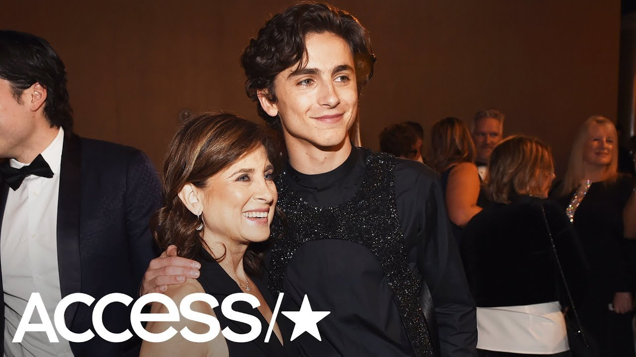 Timothée Chalamet Once Pranked His Mom Which Left Her Naked On A Cruise Balcony | Access