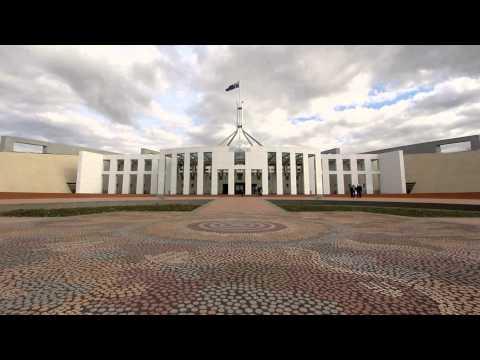 Australian Parliament House, Canberra, ACT, Australia