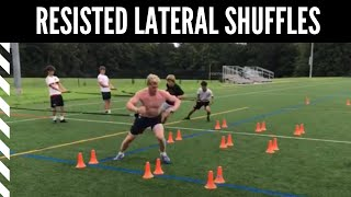 Lacrosse Speed & Agility: Resisted Lateral Shuffles