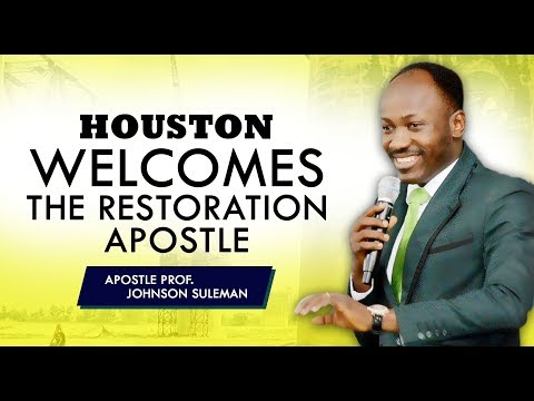 THE SUPERNATURAL - HOUSTON TX (DAY 2 EVENING)  With Apostle Johnson Suleman