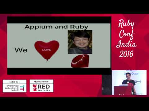 Functional Testing of Mobile Apps using Appium and Ruby by Kothari & Aggarwal