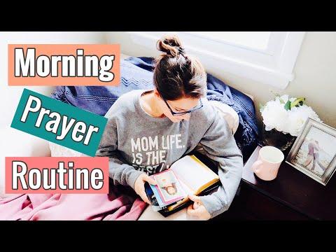MORNING PRAYER ROUTINE