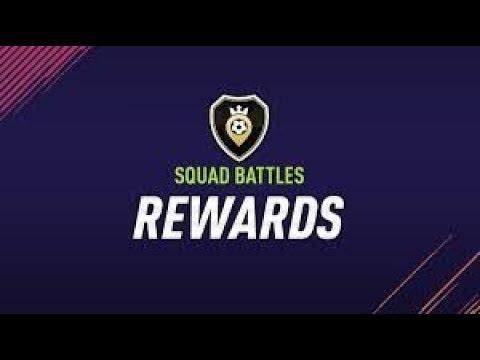 Fifa 18 nagrody za squad battles  elita 3  + 10 paczek specjalnych
