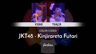 「color coded」 JKT48 - Kinjirareta Futari