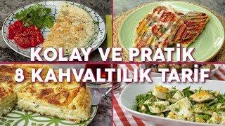 Kolay ve Pratik 8 Kahvaltılık Tarif (Seç Beğen!) - Yemek Tarifleri