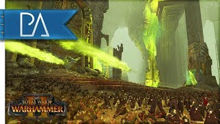 Battle of the Warp - Stone Caverns - Total War: Warhammer 2 Gameplay