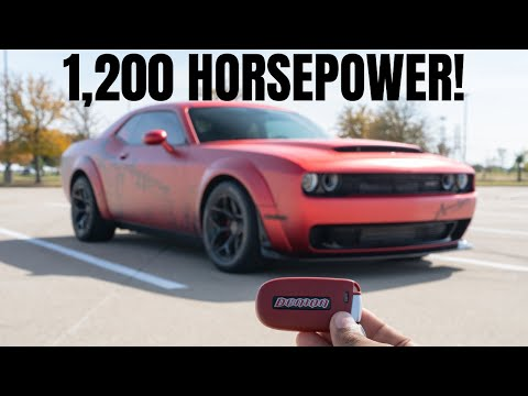 Let's Drive this 1,200 Horsepower Dodge Demon APOCALYPSE!